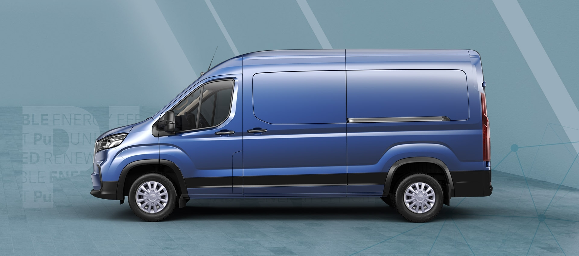 Maxus Deliver 9 - Side view